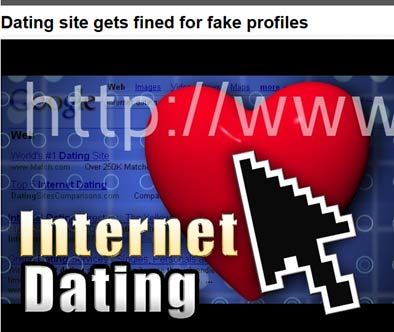 feds fine dating site for making fake profiles Ica proposes adoption of udrp reform policy platform the internet commerce association (ica) has published its proposed the national arbitration forum is completely biased towards trademark complainants.